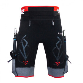 KiWAMi Equilibrium Trail Shorts black/red